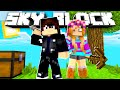OUR NEW ADVENTURE! Minecraft SKYBLOCK #1 /W Kiraberry