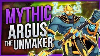 Argus the Unmaker   Mythic Antorus the Burning Throne   EnhShaman [WoW Legion 7.3.5]