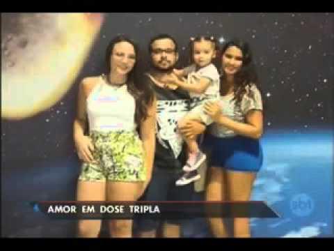 Homem se casa com duas mulheres no Rio de Janeiro - YouTube