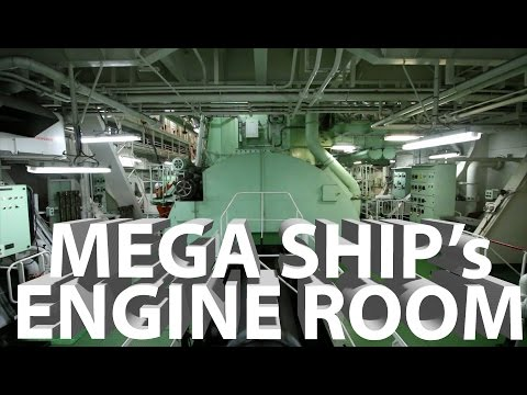 A Tour of Mega Ship's Engine Room