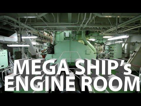 A Tour of Mega Ship's Engine Room