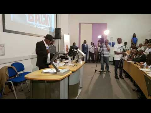 Take it back United Kingdom chapter..Live at University of East London, Stratford. United Kingdom..