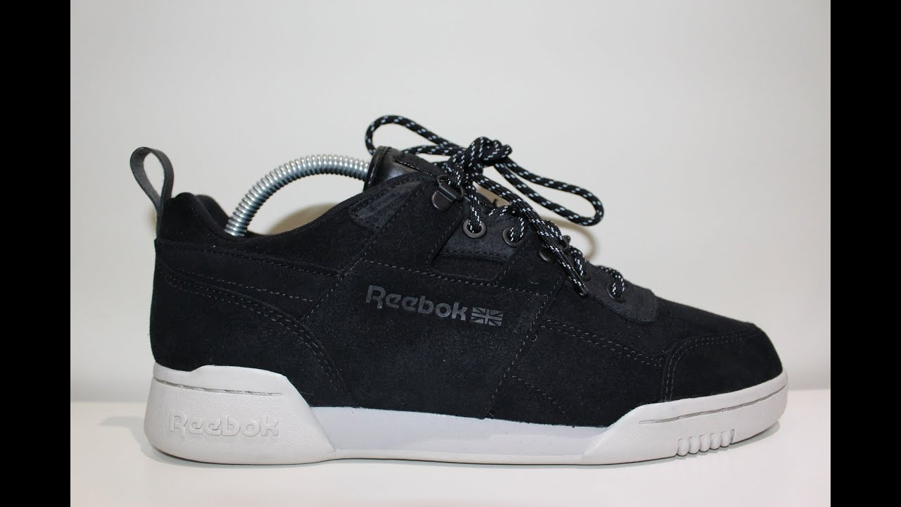 51f583042f3 Reebok x Size  Workout Plus WW  Black Winter Pack  - Review - YouTube
