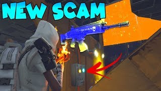 *NEW SCAM* Spectrolite Gun Scam! (Scammer Gets Scammed) Fortnite Save The World