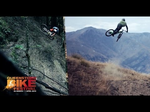 Downhill Mountain Biking, Freeride & Dirt Jumping BEST OF Queenstown New Zealand