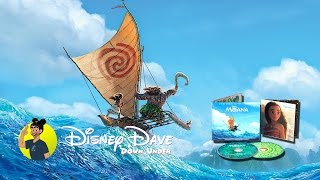 MOANA Deluxe Edition Soundtrack CD Review & Unboxing