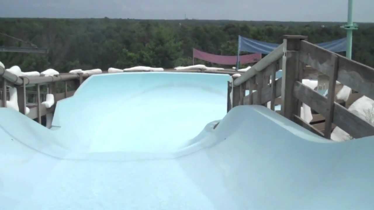 Blizzard Beach Teamboat Springs Family Water Slide Ride Pov
