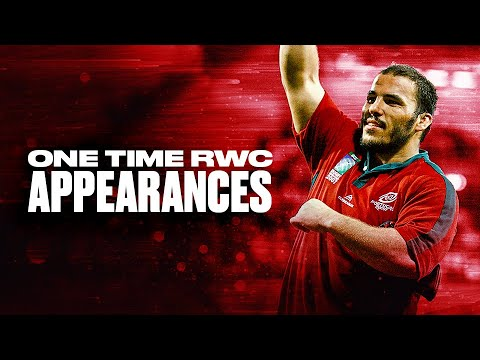 1️⃣ One Time Appearances at Rugby World Cup