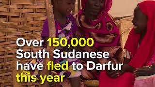 UN Refugee Chief visits South Sudanese refugees in Sudan