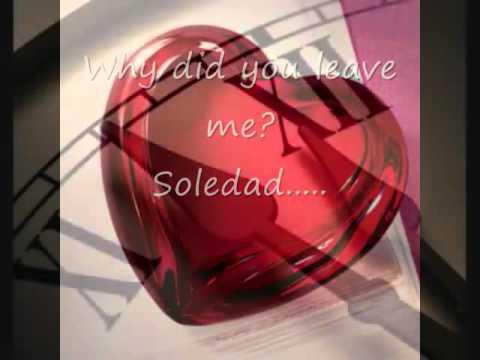 Soledad  Westlife with  lyrics