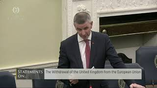 Senator Ian Marshall | Withdrawal of UK from EU 6 Nov 2019