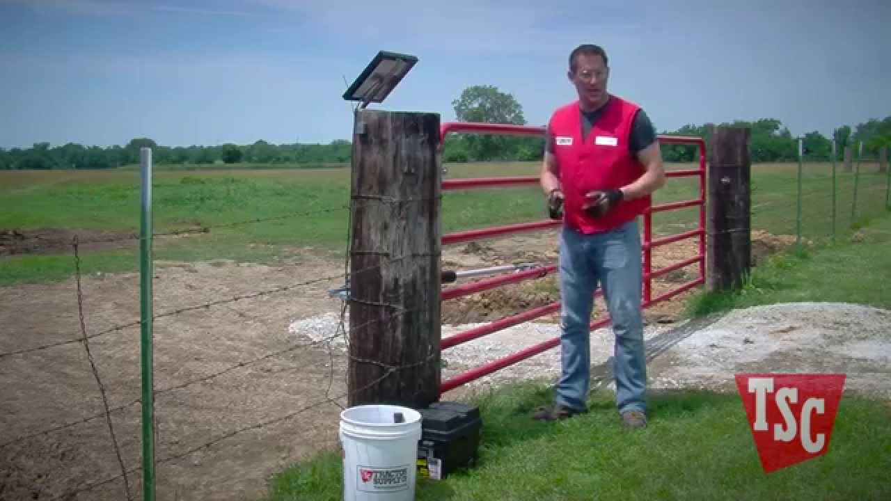 hight resolution of how to install an automatic gate opener tractor supply company