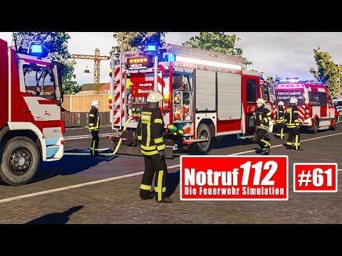 NOTRUF 112 #61: Volle Verantwortung als EINSATZLEITER der Feuerwehr! I Feuerwehr-Simulation |
