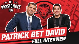 PATRICK BET-DAVID: How To Go From Broke As F**k To $70 Million Dollar CEO! (MUST WATCH INTERVIEW)