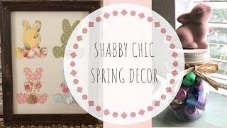 DIY Shabby Chic Easter Sign |  Cheap Mason Jar Easter Gift