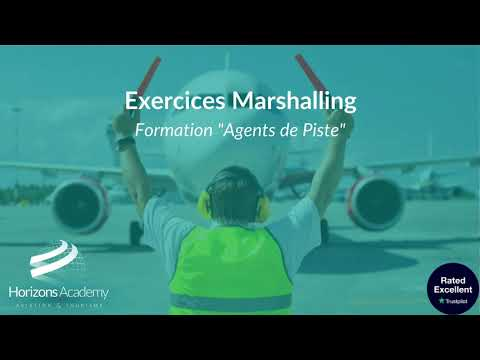 Exercices Marshalling - Elèves Agent de piste