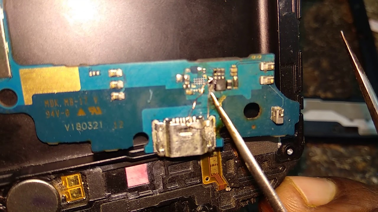 Samsung J250f (J2 18) Charging ic/ways 10000% Solved Tested - 9tube tv