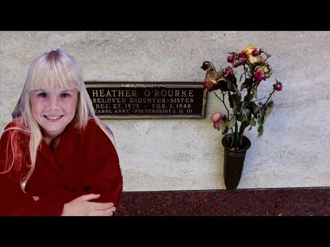 #1185 What Happened To HEATHER O'ROURKE Of POLTERGEIST Grave (11/4/19)