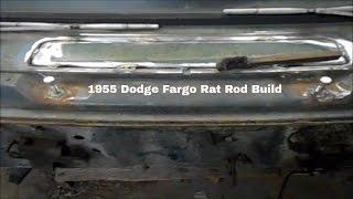 1955 DODGE  FARGO   RAT ROD  BUILD  part 5