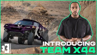 Introducing... TEAM X44   Lewis Hamilton's Team Joins Extreme E!