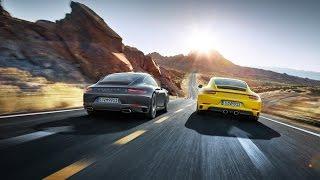 Porsche 911 Driving and Parking