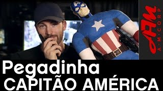 Gambar cover Pegadinha Capitão América[Legendado] - #AMCorp - André Martins