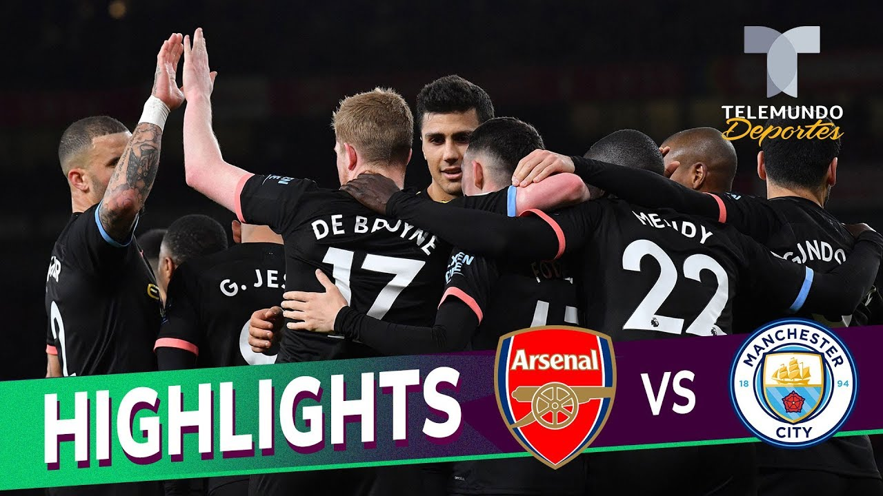 Arsenal Vs Manchester City 0 3 Goals Highlights