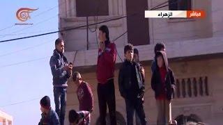 مراسل الميادين في سوريا يلتقي أسرته بعد ثلاث سنوات من الحصار