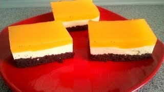 Mango - Passion Fruit Mousse Cake With Soyatoo Whip Cream  (dairy Free And Vegan)