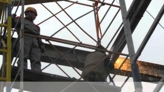 Фасадные работы в Москве. Компания ГОР.(Компания ГОР осуществляет фасадные работы в Москве методом промышленного альпинизма: мойка фасадов, покра..., 2014-07-29T11:18:44.000Z)