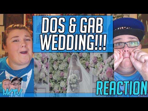 KATHNIEL!!! Dos and Gab Wedding Ceremony SDE REACTION!! 🔥