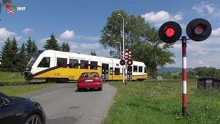 Przejazd kolejowy Gołogłowy (PL) ...