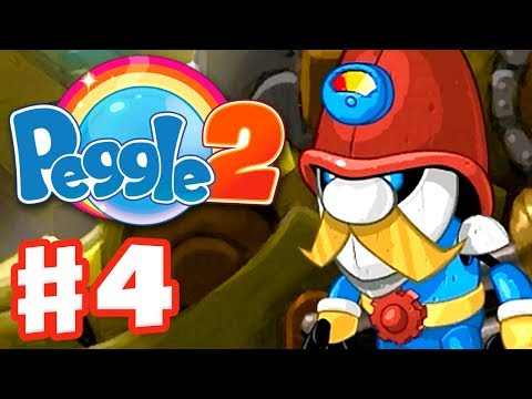 Peggle 2 - Gameplay Walkthrough Part 4 - Gnorman's Gneighborhood (Xbox One Extreme Fever)