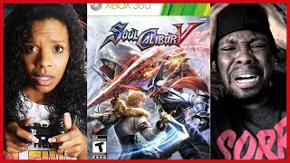 HUSBAND AND WIFE FIGHTING GAME RAGE!! - Soul Calibur 5 Gameplay l #ThrowbackThursday