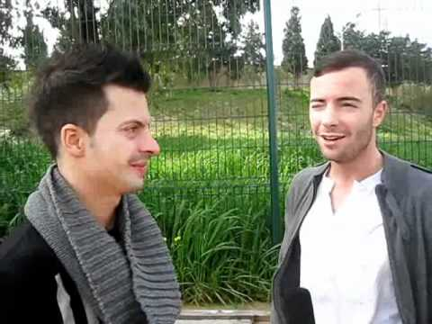 Malta Eurovision Song Contest 2012 - Interview with Sinplus (Switzerland 2012) - Unbreakable