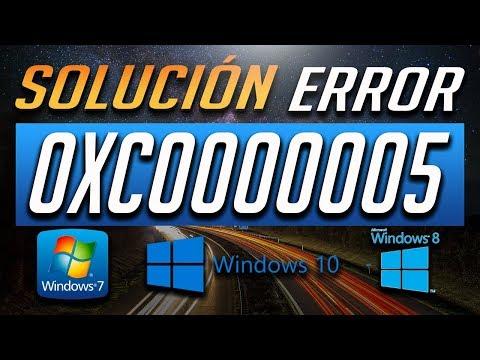 Solución al Error 0xc0000005 en Windows 10/8/7 - [Tutorial 2018]
