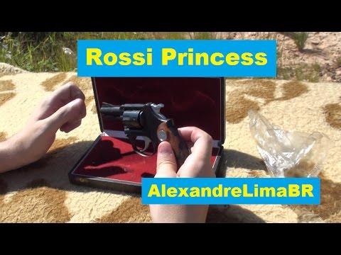 Revólver Rossi Princess em  22 LR