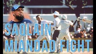 The Real Story behind Javed Miandad & Saqlain Mushtaq's Fight!