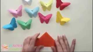 Repeat youtube video 手工蝴蝶 Diy Butterfly