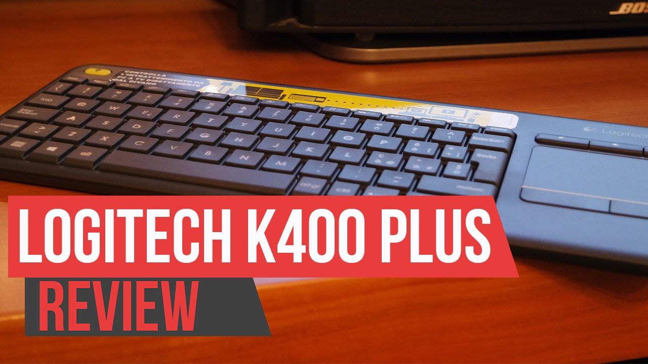 Recensione Logitech K400 Plus, la compagna ideale del