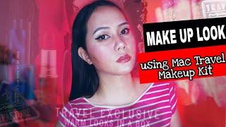 Makeup Look Using Mac Travel Makeup Kit   Noemie Grace Esber