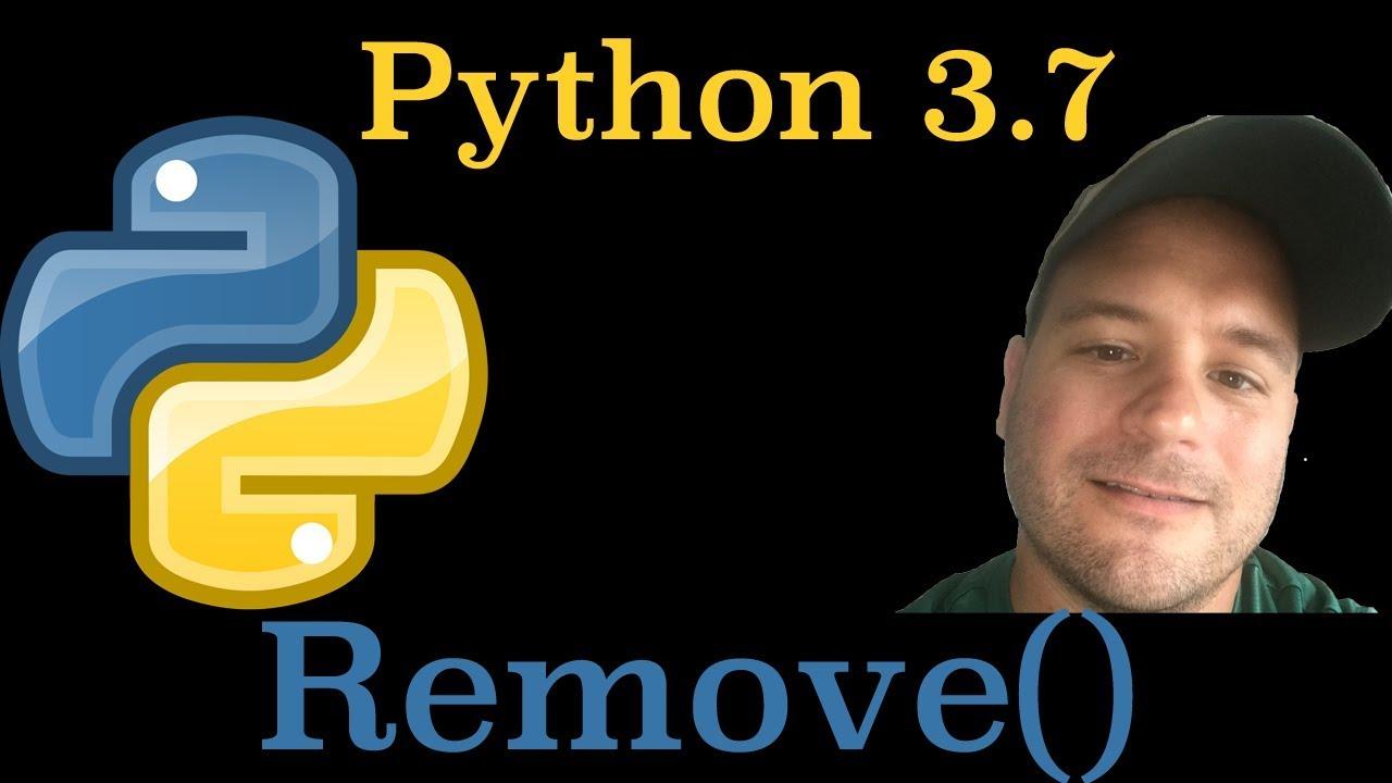 Master Code Online Python 3 7: Remove() List Method In Python