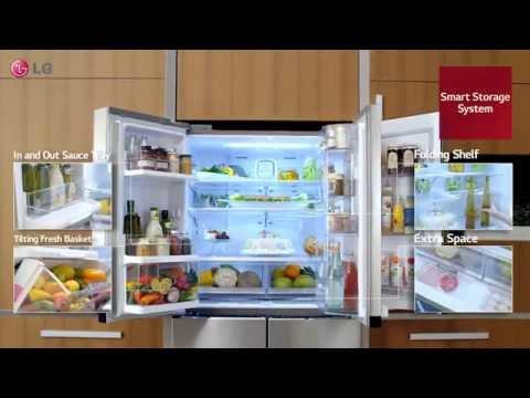 LG Premium 4 Door Refrigerator Door-in-Door