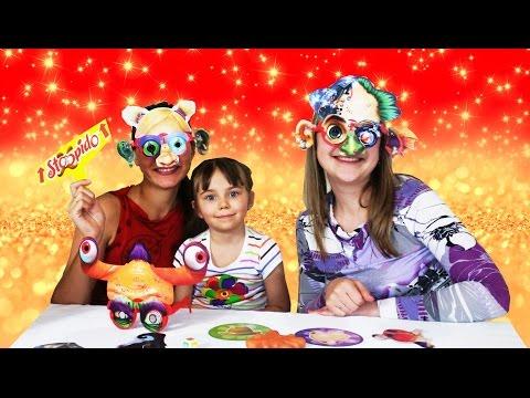 Челлендж настольная игра тысяча забавных лиц очень веселое видео для детей Chellenge Stoopido