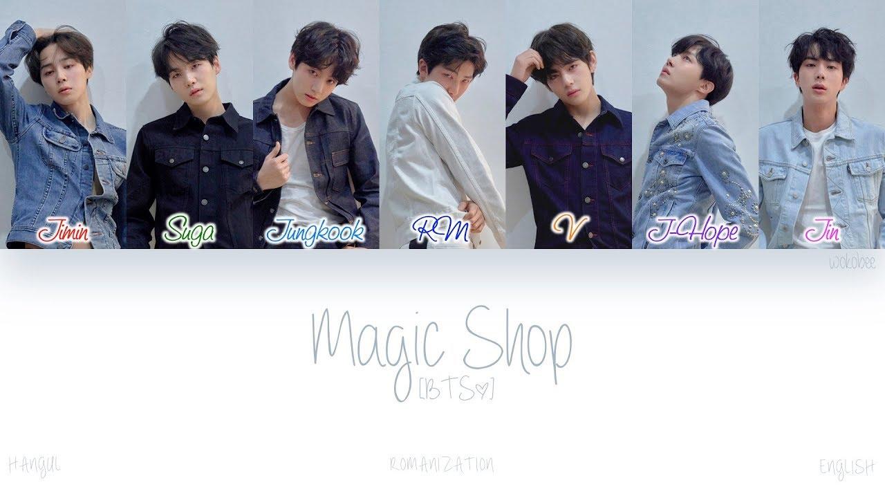 Download [HAN|ROM|ENG] BTS (방탄소년단) - Magic Shop (Color Coded Lyrics)