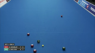 Just. 2019 World  Ndoor Bowls Championships Day 6 Session 2