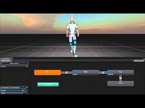 Comment crée un jeux avec unity 3d - épisode 3 -Animation perso | FunnyDog.TV