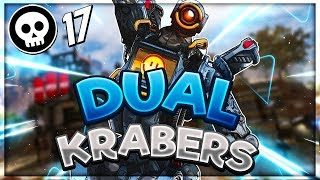 Winning a game *SOLO* with DUAL KRABERS in Apex Legends thumbnail