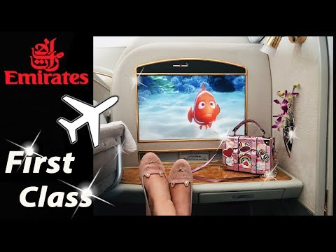I FELT LIKE A PRINCESS FLYING FIRST CLASS WITH EMIRATES!!!!