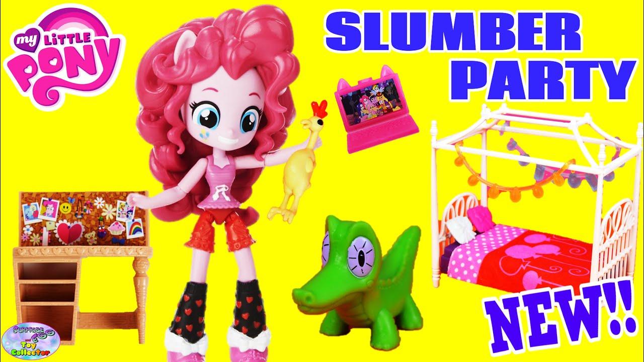 Twilight Bedroom Set My Little Pony Equestria Girls Minis Slumber Party Pinkie
